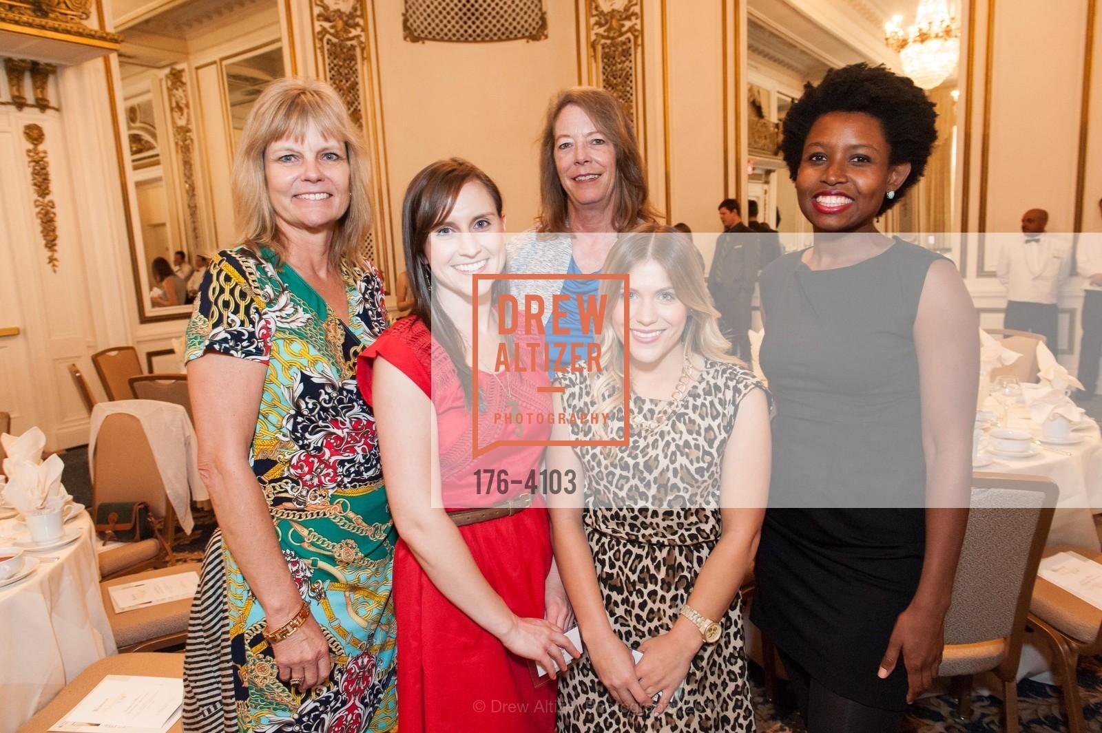 Corinna Sunders, Emily Burke, Lauren Agnew, Chelsea Randall, Jennifer Ratliff, Photo #176-4103