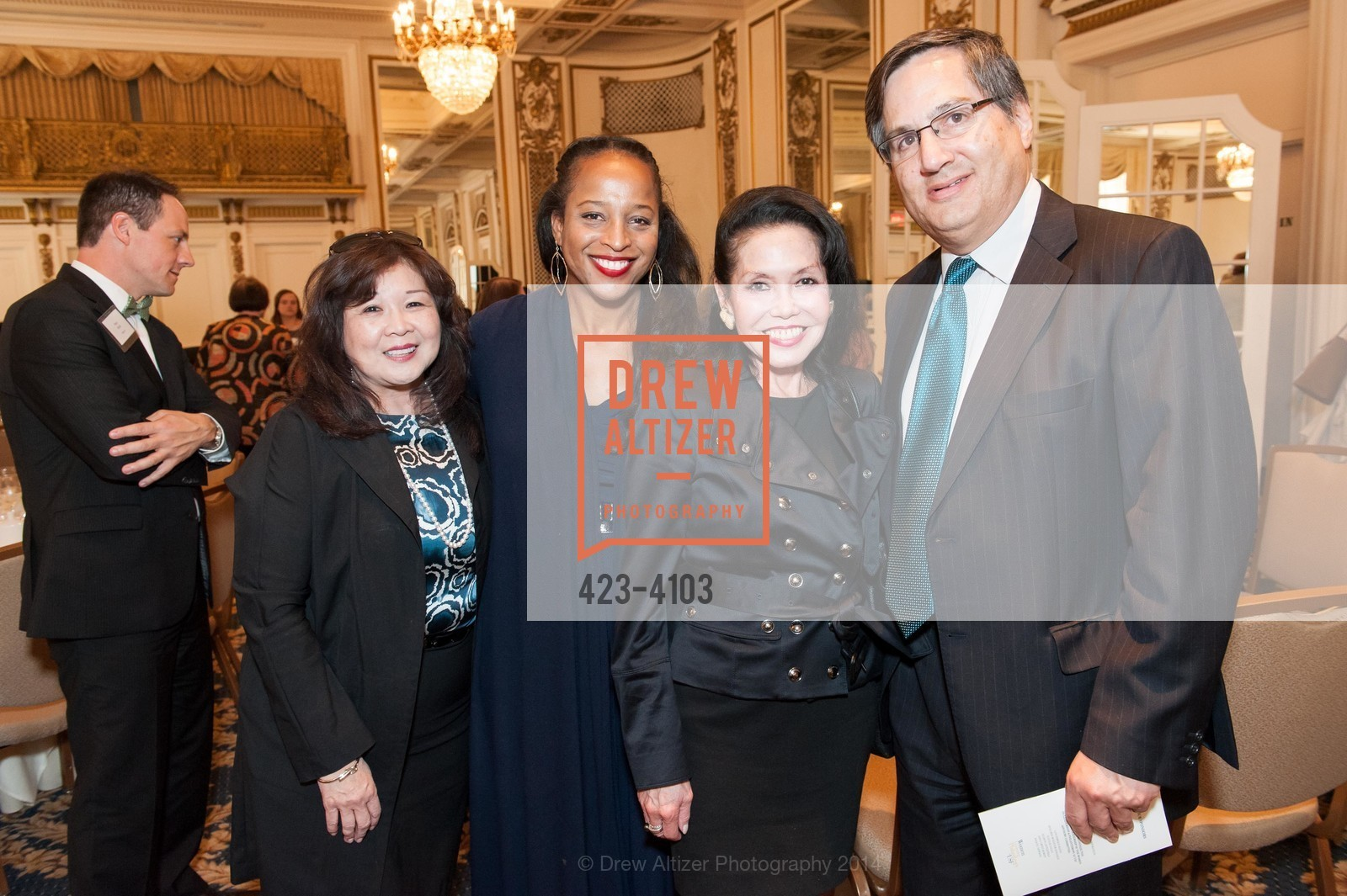 Adriane Fon, Mary Wardell Ghirarduzzi, Janice Mirikitani, John Trasvina, Photo #423-4103