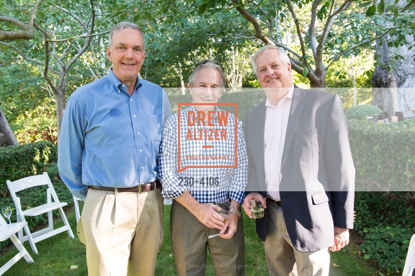 John Stevenson, Bill Last, Wade Aubry, Photo #230-4106