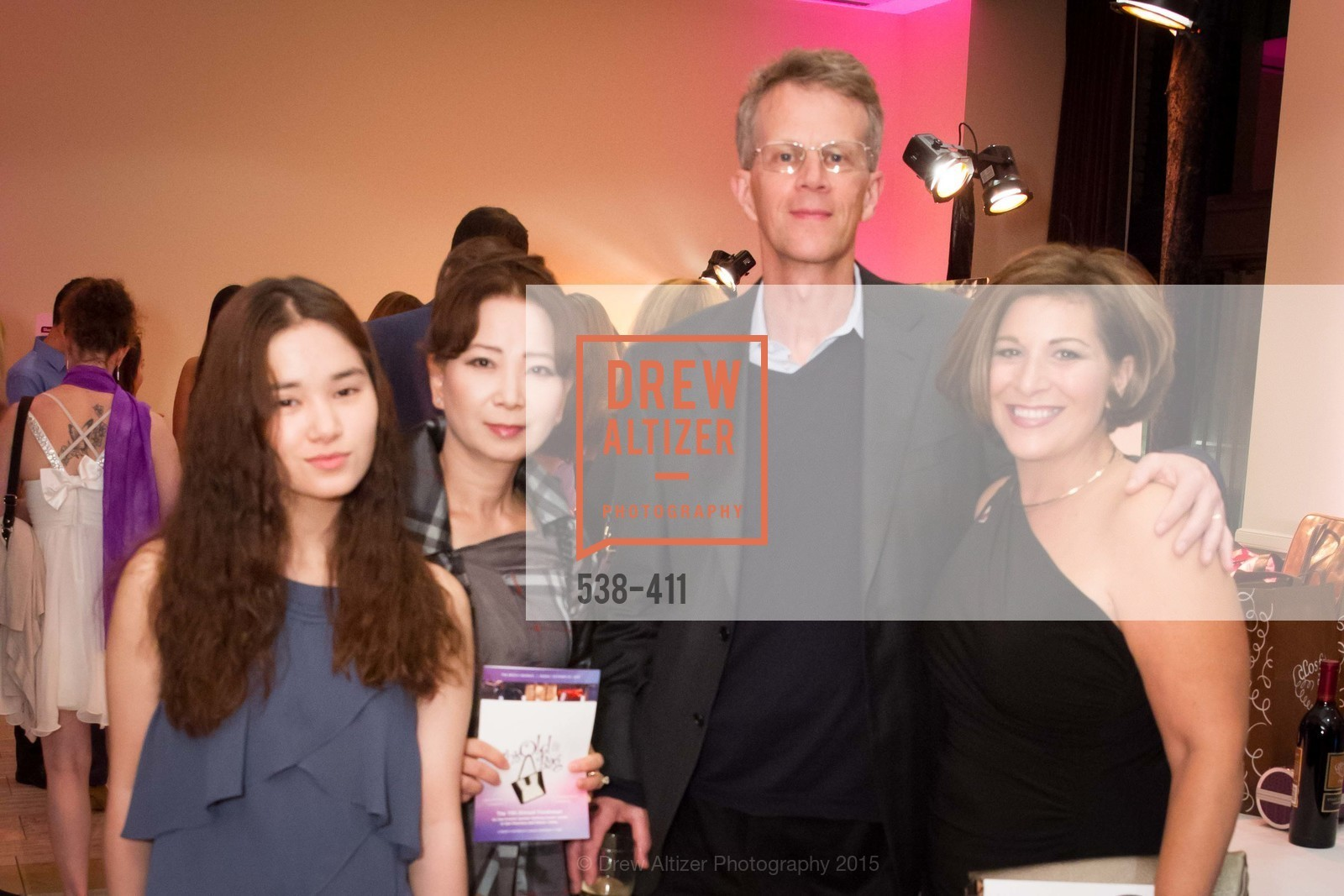 Catherine Carter, Sydney Carter, Paul Carter, Ilana Minkoff, Breast Cancer Emergency Fund's: THIS OLD BAG: The Power of the Purse, The Bently Reserve. 301 Battery St, October 23rd, 2015,Drew Altizer, Drew Altizer Photography, full-service event agency, private events, San Francisco photographer, photographer California