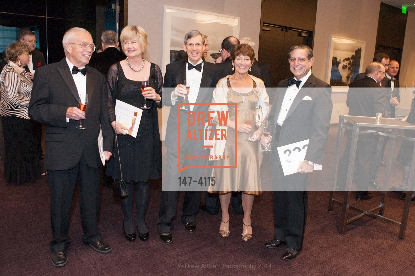 William Lokke, Gabriela Odell, Bruce Tarter, Jeanne Shuler, Paul Sugarman, Photo #147-4115