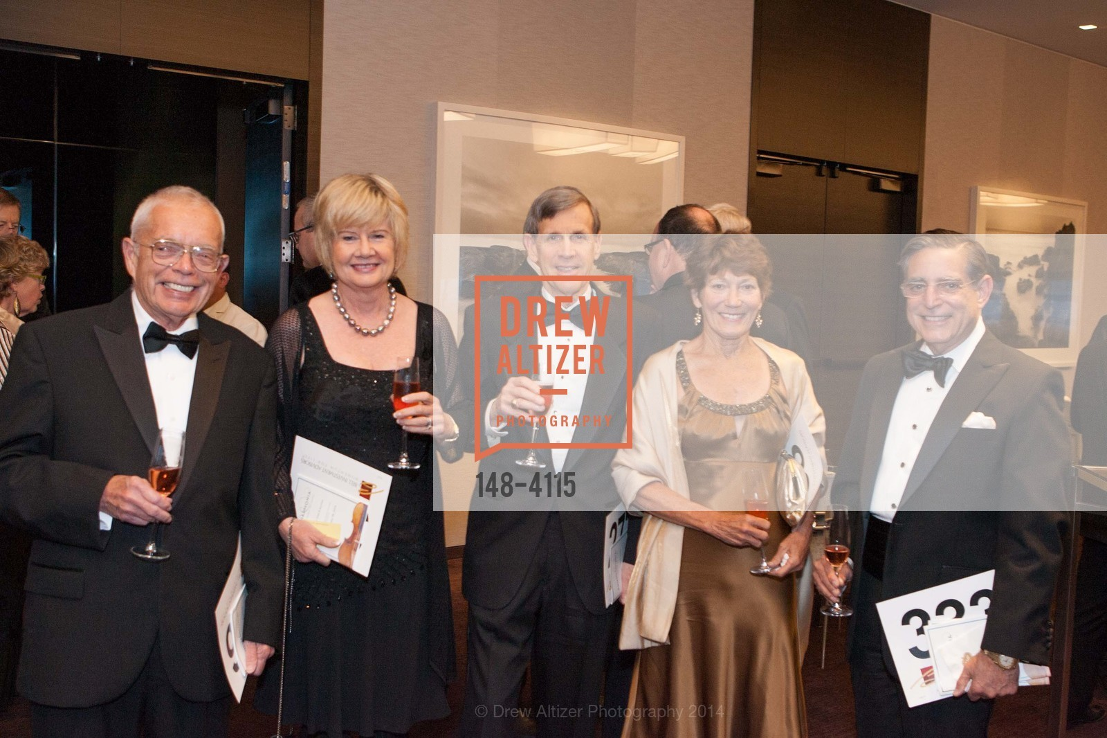 William Lokke, Gabriela Odell, Bruce Tarter, Jeanne Shuler, Paul Sugarman, Photo #148-4115