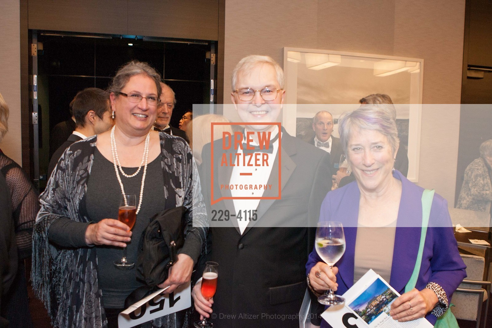 Leila El-Wakil, Ross Armstrong, Margaret Hegg, Photo #229-4115