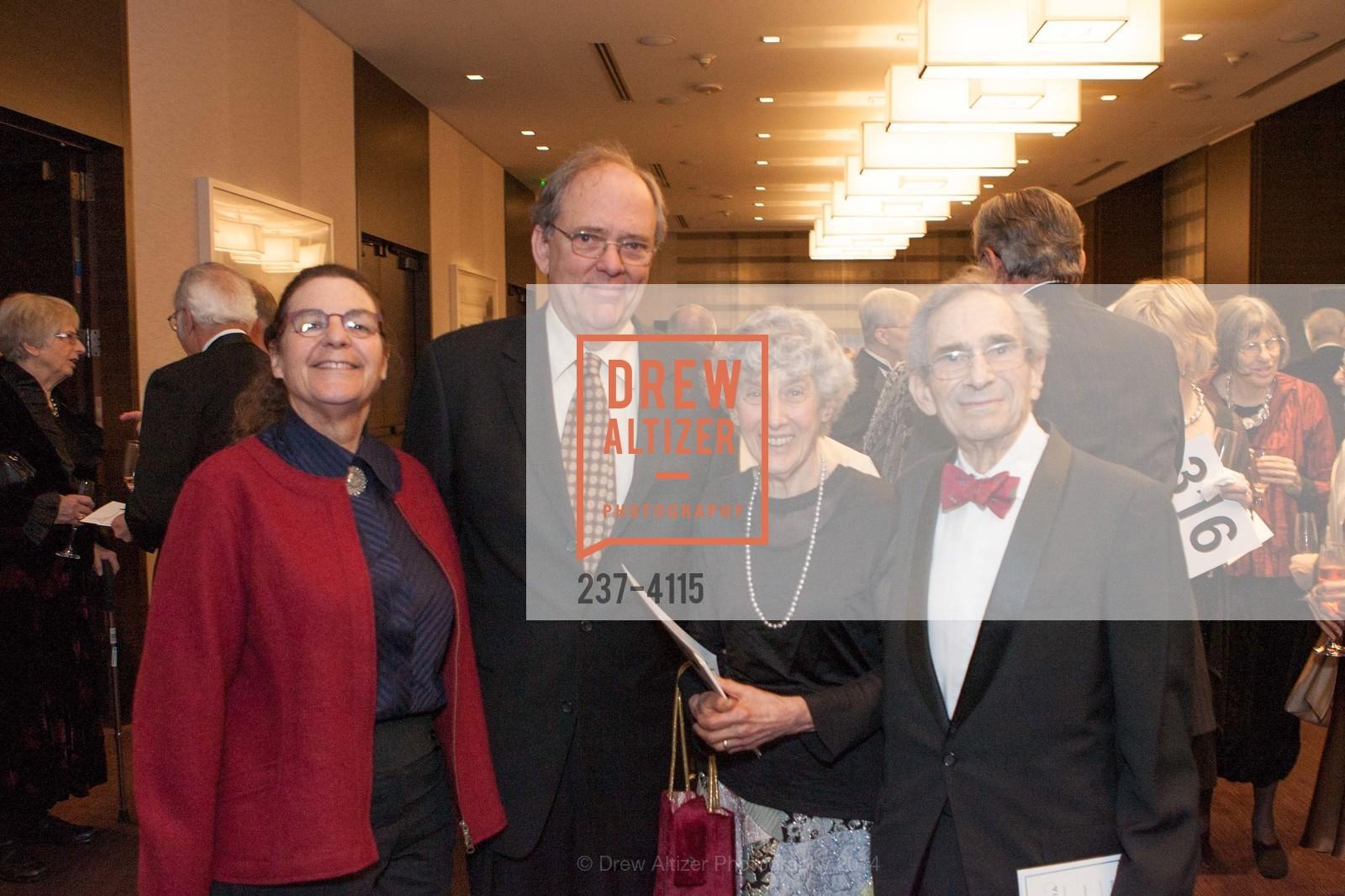 Suzanne Hering, John Phillips, Sondra Schlesinger, Milton Schlesinger, Photo #237-4115
