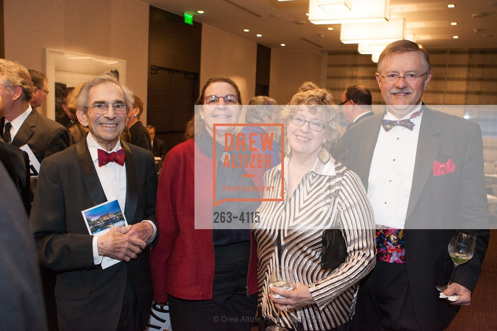 Milton Schlesinger, Suzanne Hering, Charlotte Gaylord, Barrie Cowen, Photo #263-4115