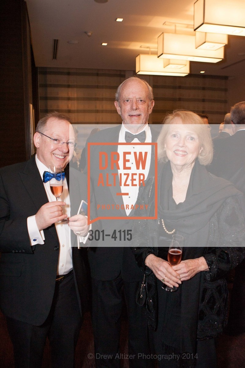Nicholas McGegan, Dick Martin, Kaye Sprinkel Grace, Photo #301-4115
