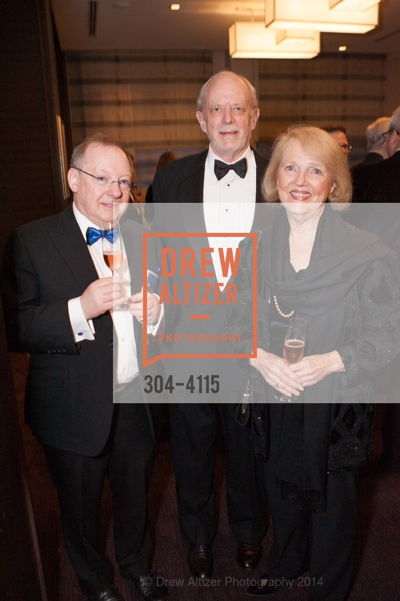 Nicholas McGegan, Dick Martin, Kaye Sprinkel Grace, Photo #304-4115