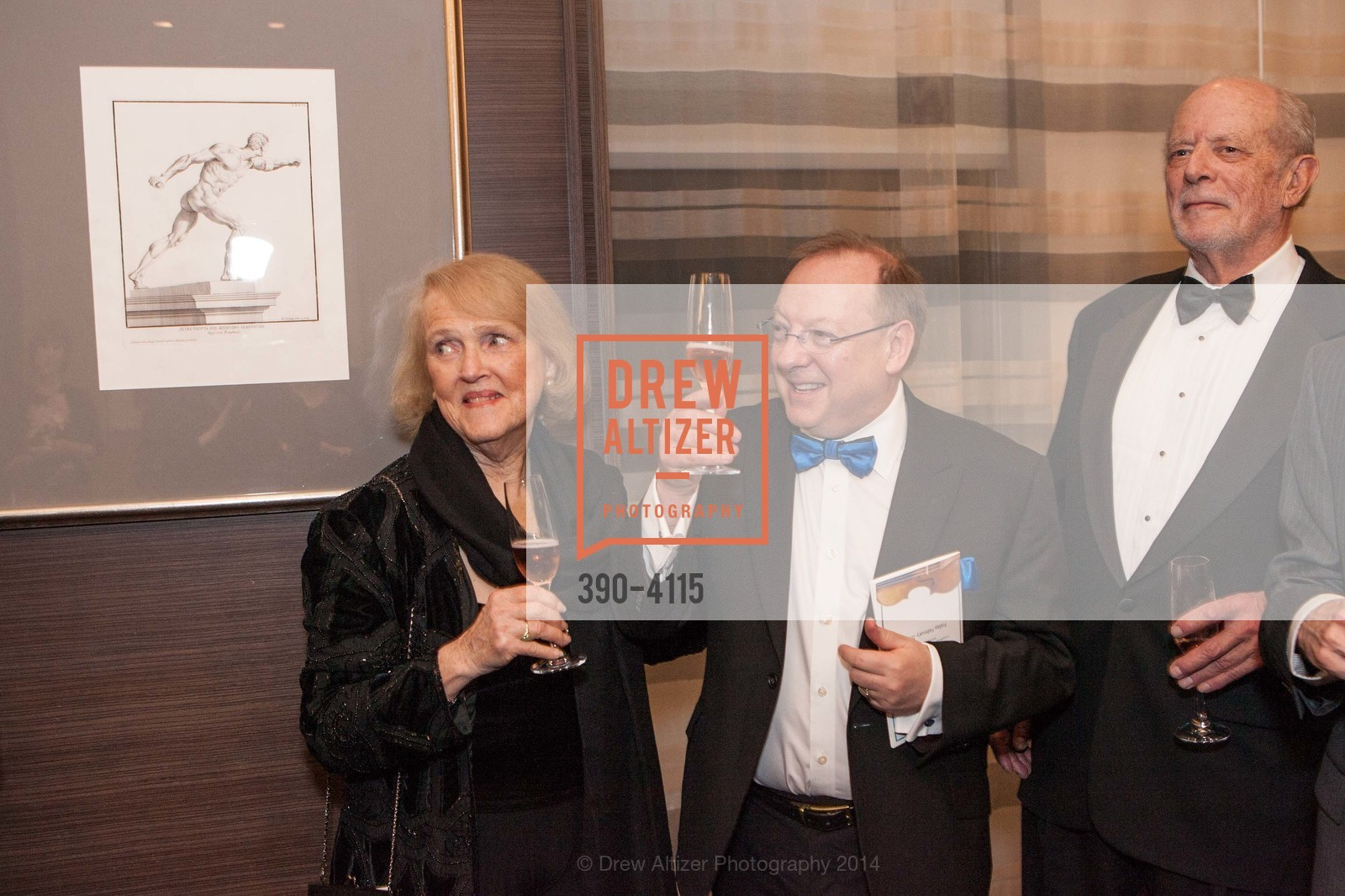 Kay Sprinkel Grace, Nicholas McGegan, Dick Martin, Photo #390-4115