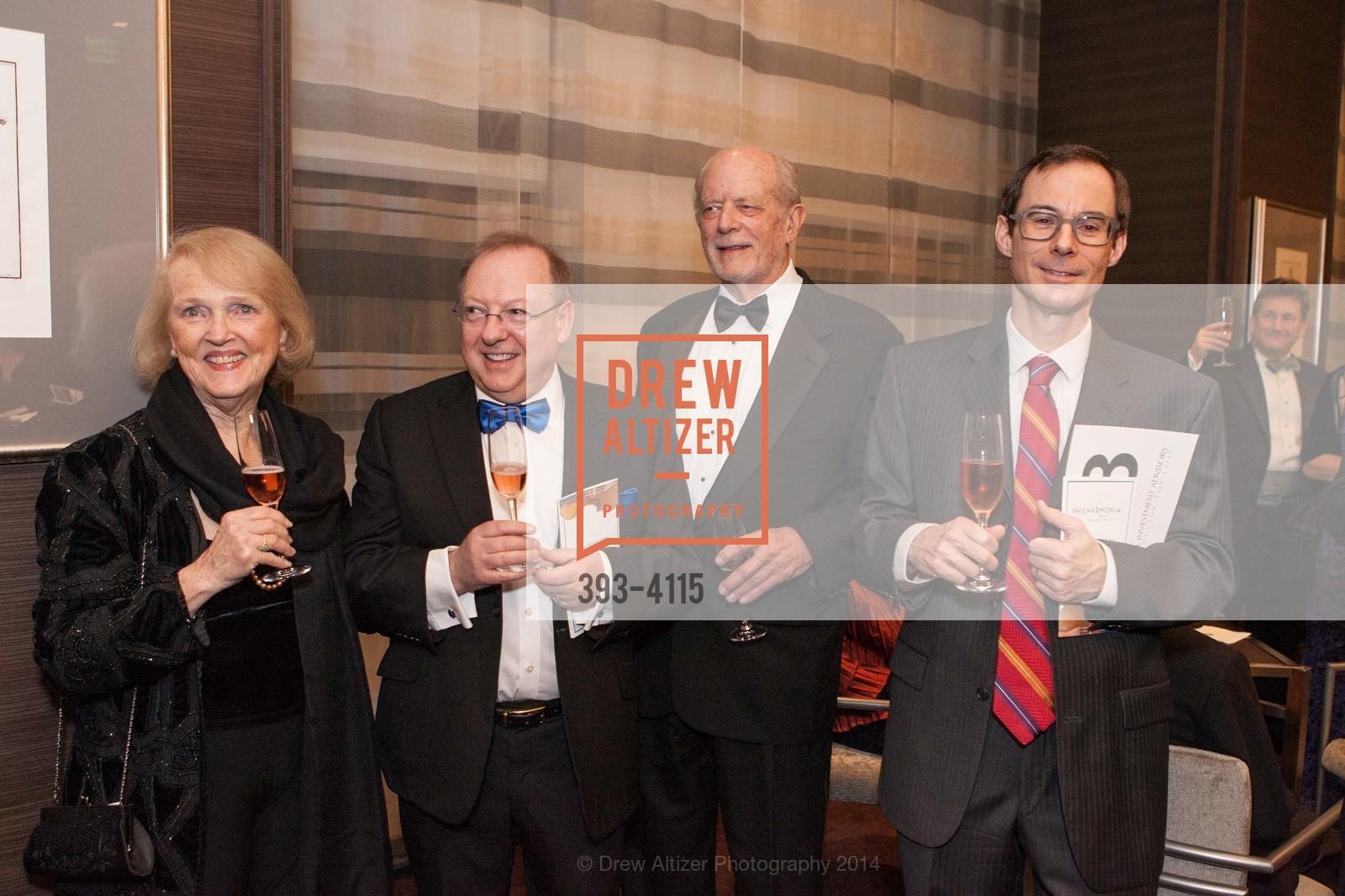 Kay Sprinkel Grace, Nicholas McGegan, Dick Martin, David Bowes, Photo #393-4115