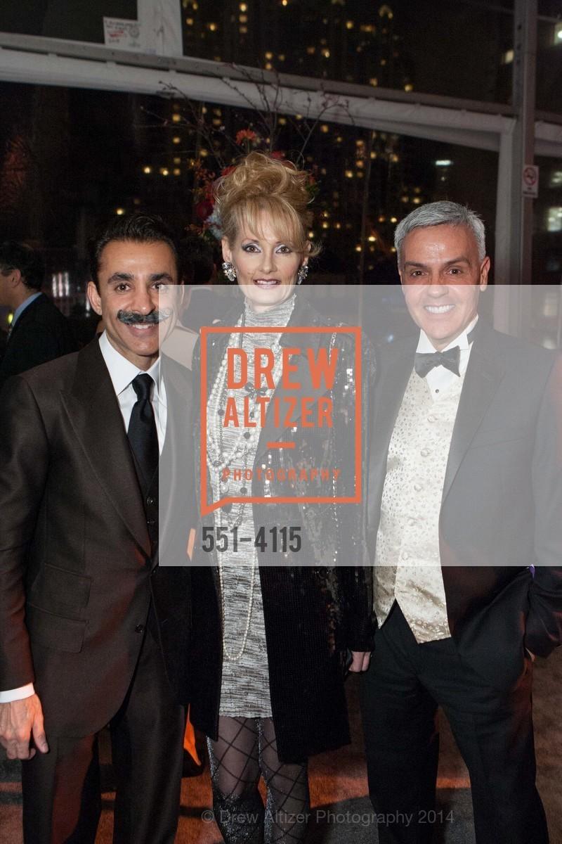 Sean Kali-Rai, Miriam Kali-Rai, Michael Colebruno, Photo #551-4115
