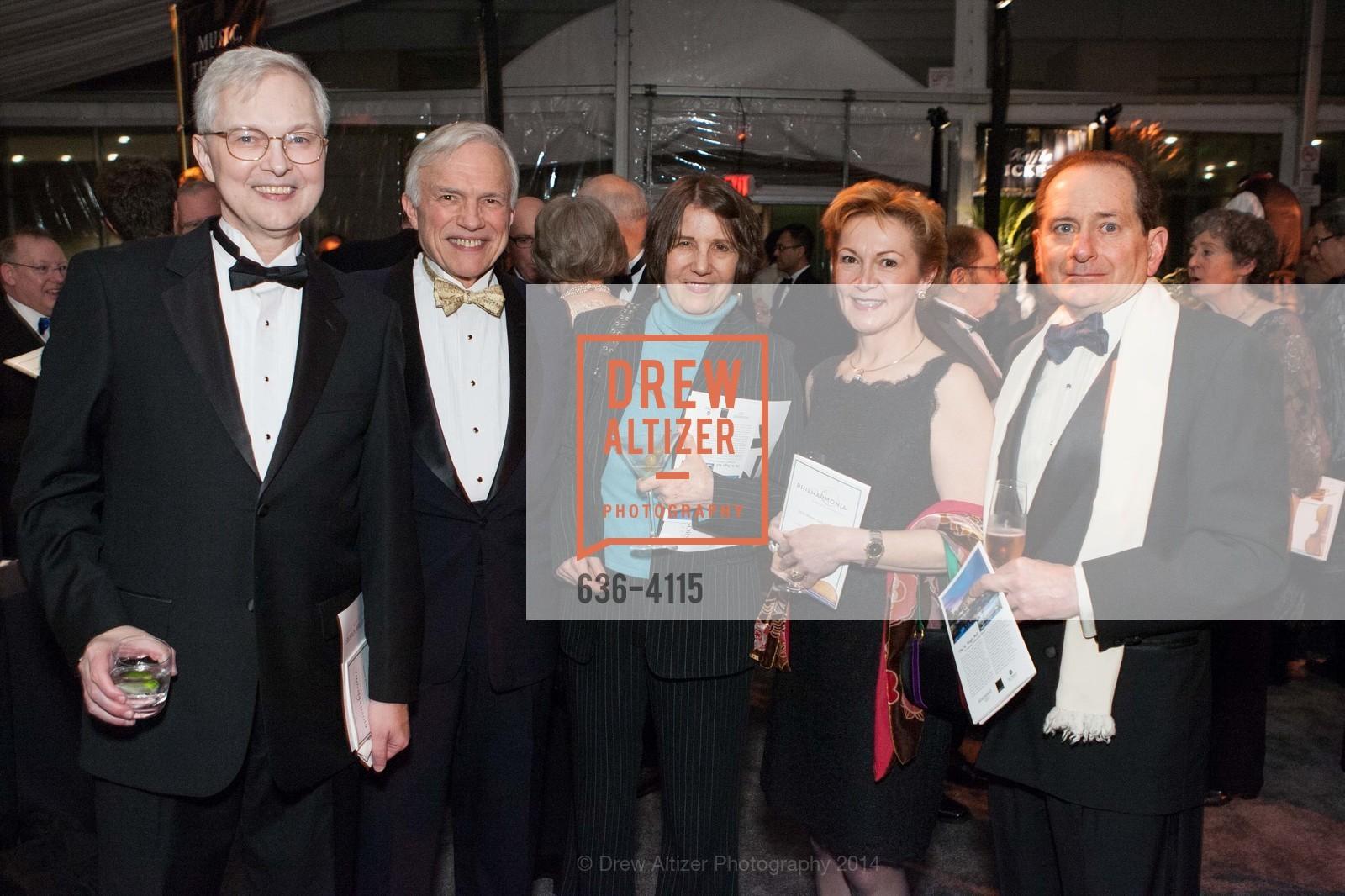 Ross Armstrong, Ches Herbert, Nina Hemenway, Beatrice Gomory, Paul Gomory, Photo #636-4115