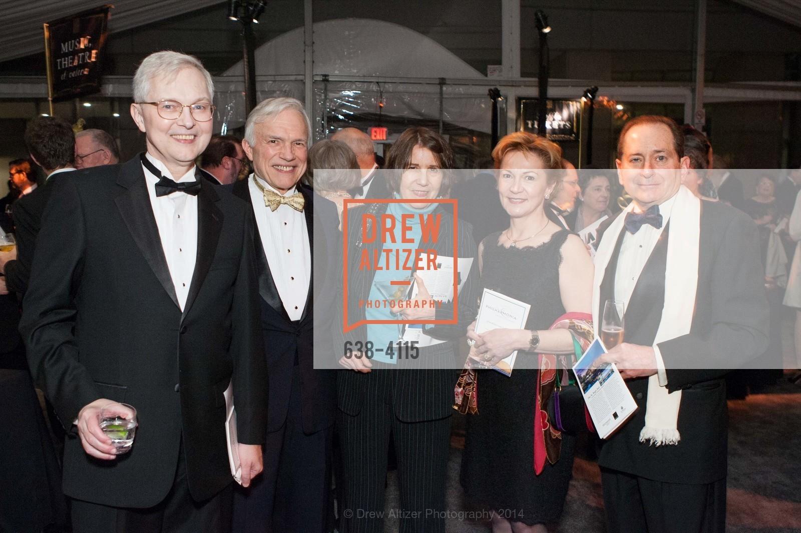 Ross Armstrong, Ches Herbert, Nina Hemenway, Beatrice Gomory, Paul Gomory, Photo #638-4115