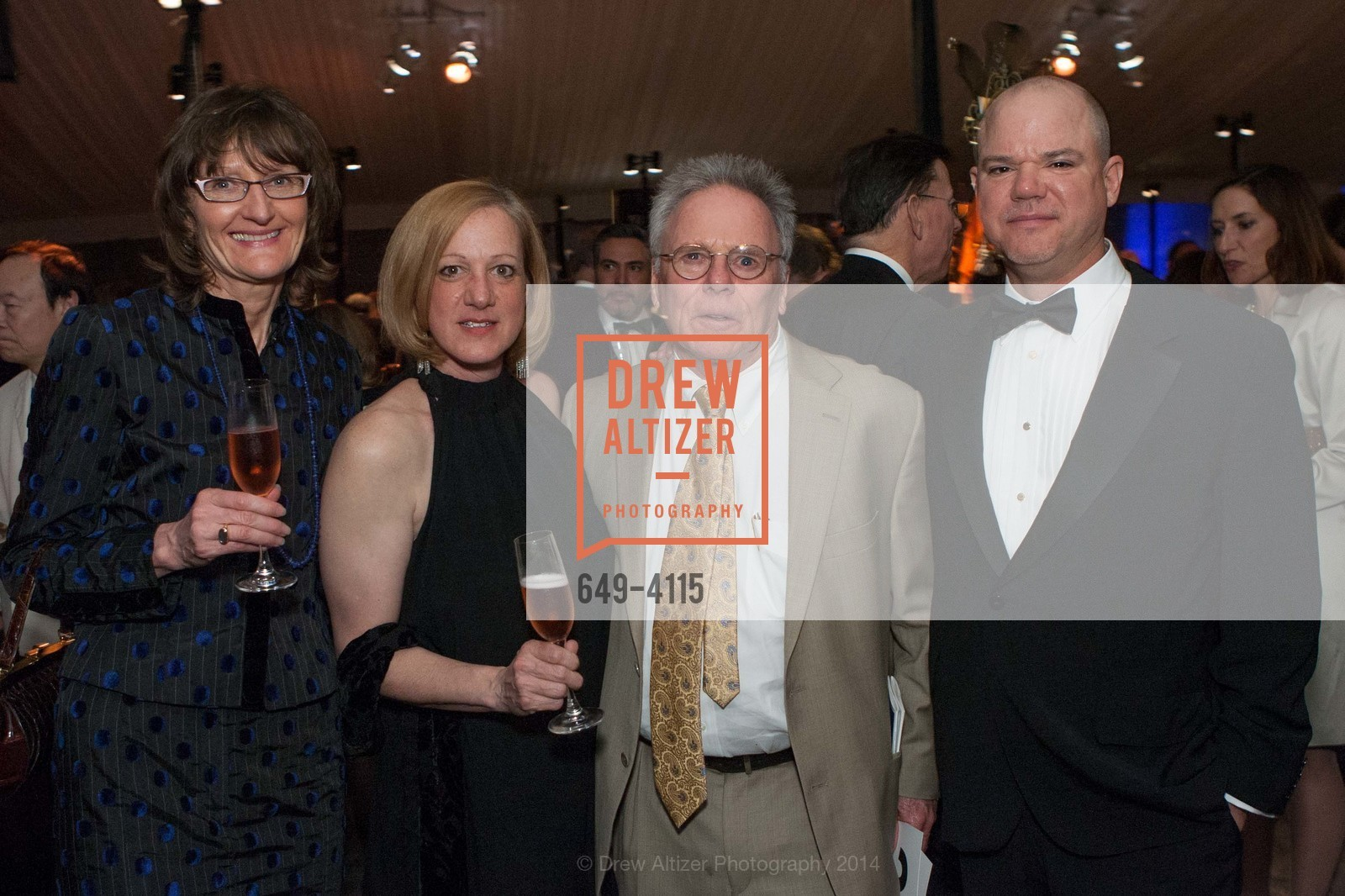 Martine Krause, Kenzie Genovese, Bob Jarman, Stuart Alexander, Photo #649-4115