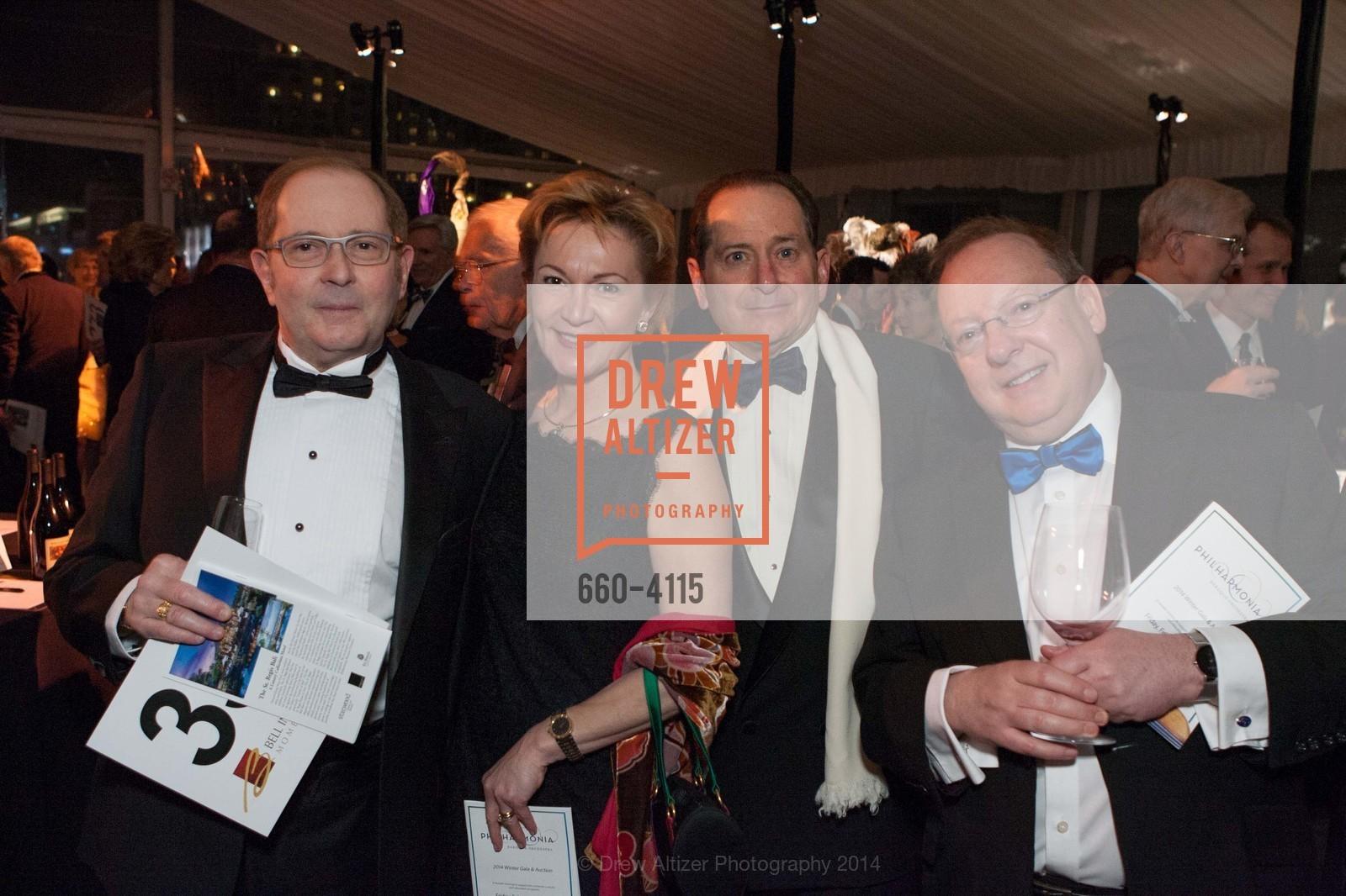Beatrice Gomory, Paul Gomory, Nicholas McGegan, Photo #660-4115
