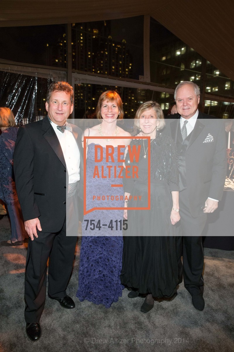 Fred Matteson, Anne Barr, Candy Lutz, Merritt Lutz, Photo #754-4115