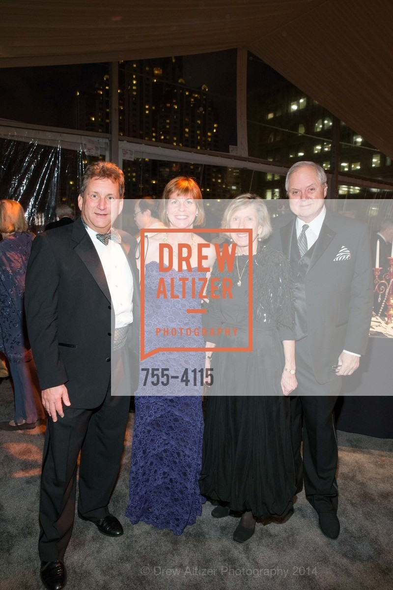 Fred Matteson, Anne Barr, Candy Lutz, Merritt Lutz, Photo #755-4115