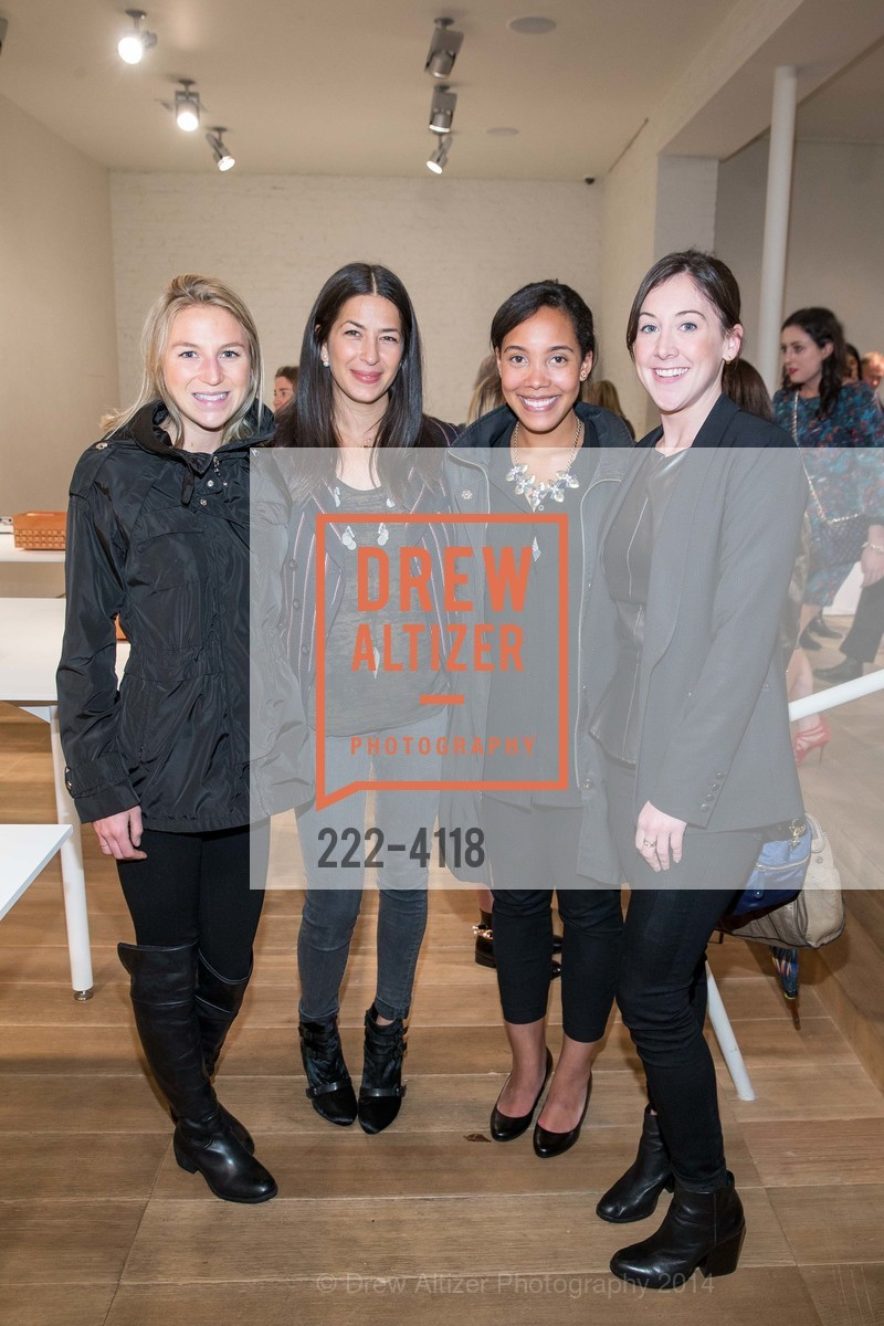 Andrea Kirkby, Rebecca Minkoff, Allison Thomas, Peggy McNulty, Photo #222-4118