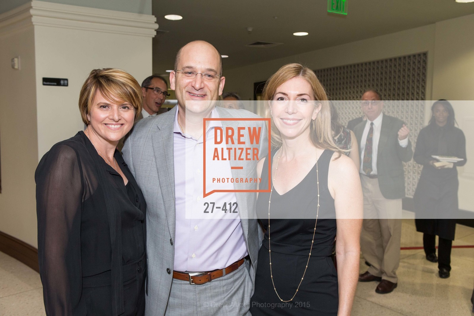 D'Anne Gleicher, Cliff Gleicher, Noël Wise, Girls Inc's of Alameda WOMEN OF TASTE, Rotunda. 00 Frank Ogawa Plaza, October 24th, 2015,Drew Altizer, Drew Altizer Photography, full-service agency, private events, San Francisco photographer, photographer california