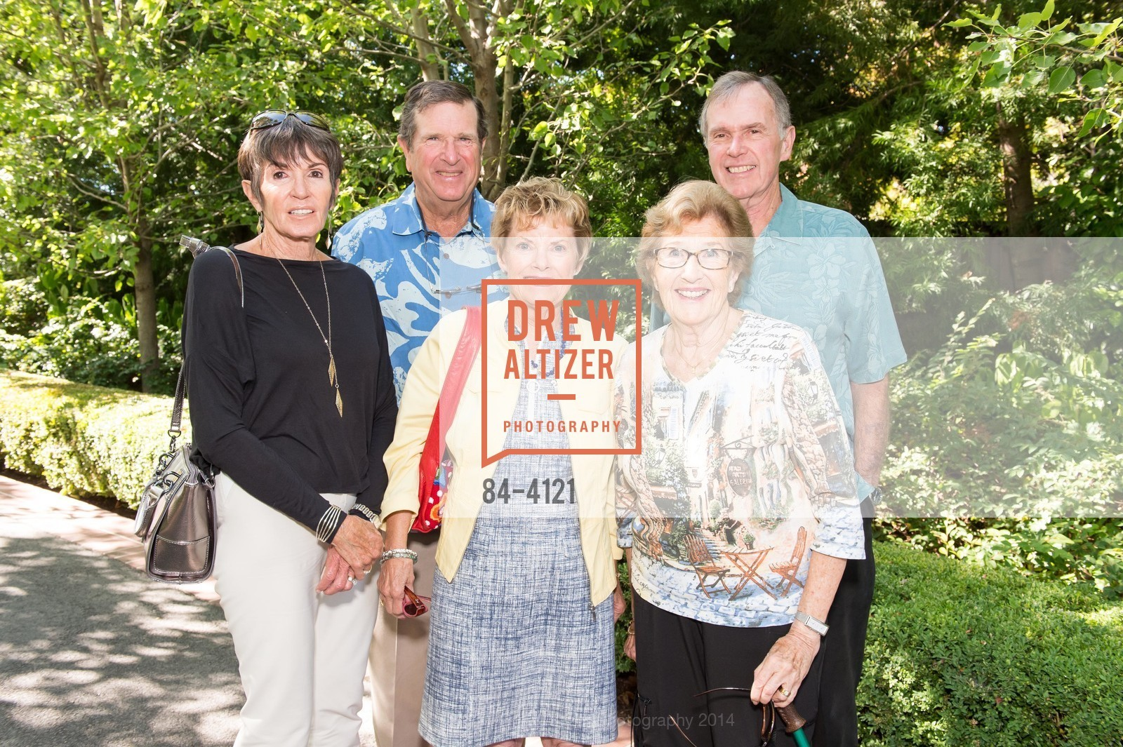 Cookie Kay, Anne Steiner, Peter Steiner, Ruth Ramel, Bill Kay, Photo #84-4121
