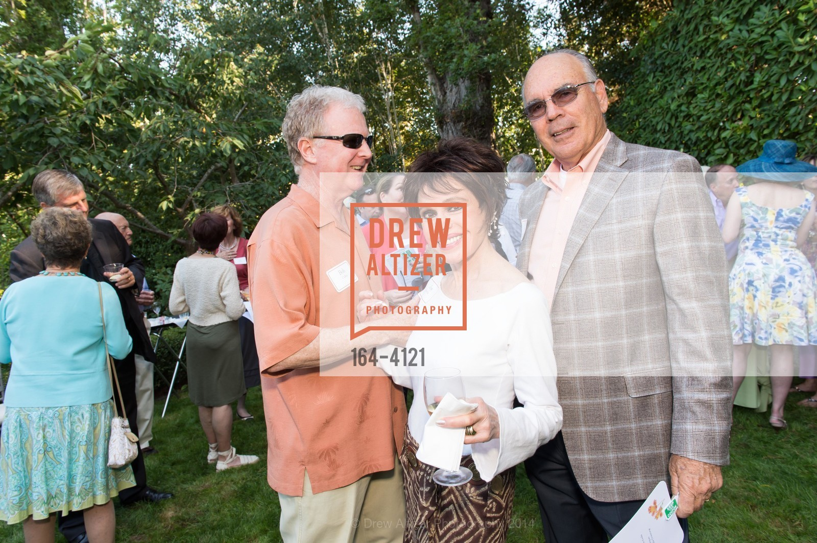 Bob Cullen, Joy Morris, Don Horsley, Photo #164-4121