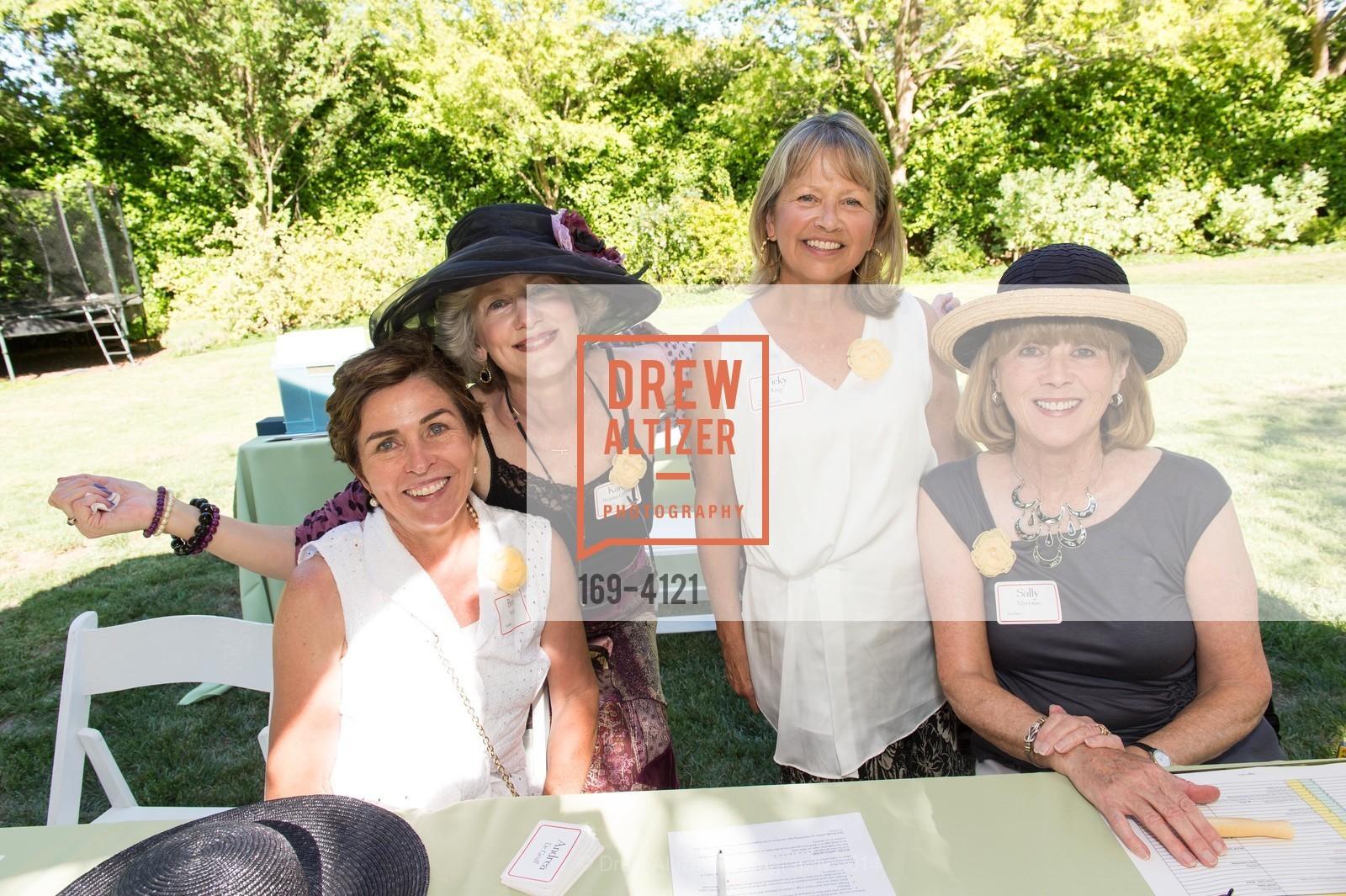Beth Walsh, Karen Boquist-Gelineau, Vicky King, Sally Myerson, Photo #169-4121
