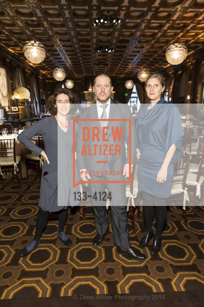 Frances Anderton, Jony Ive, Jennifer Dunlop Fletcher, Photo #133-4124