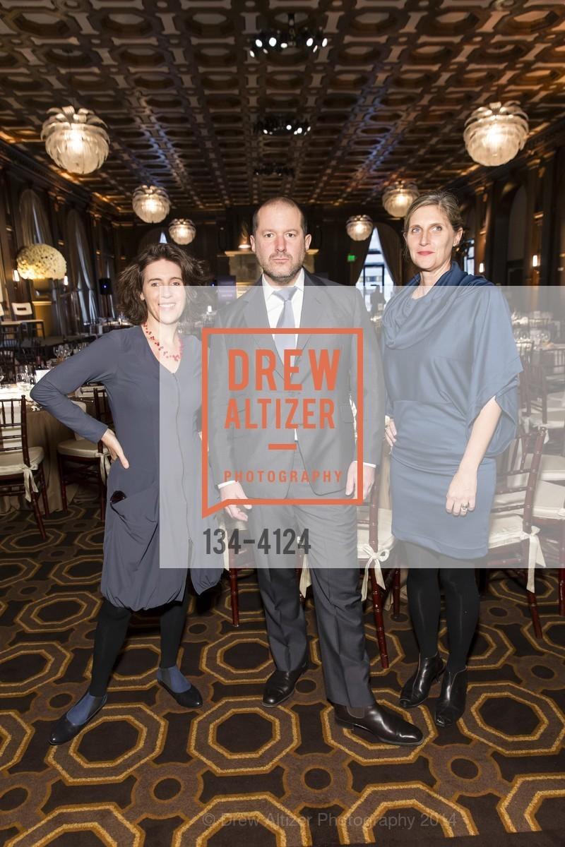 Frances Anderton, Jony Ive, Jennifer Dunlop Fletcher, Photo #134-4124