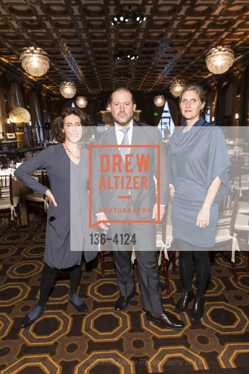 Frances Anderton, Jony Ive, Jennifer Dunlop Fletcher, Photo #136-4124
