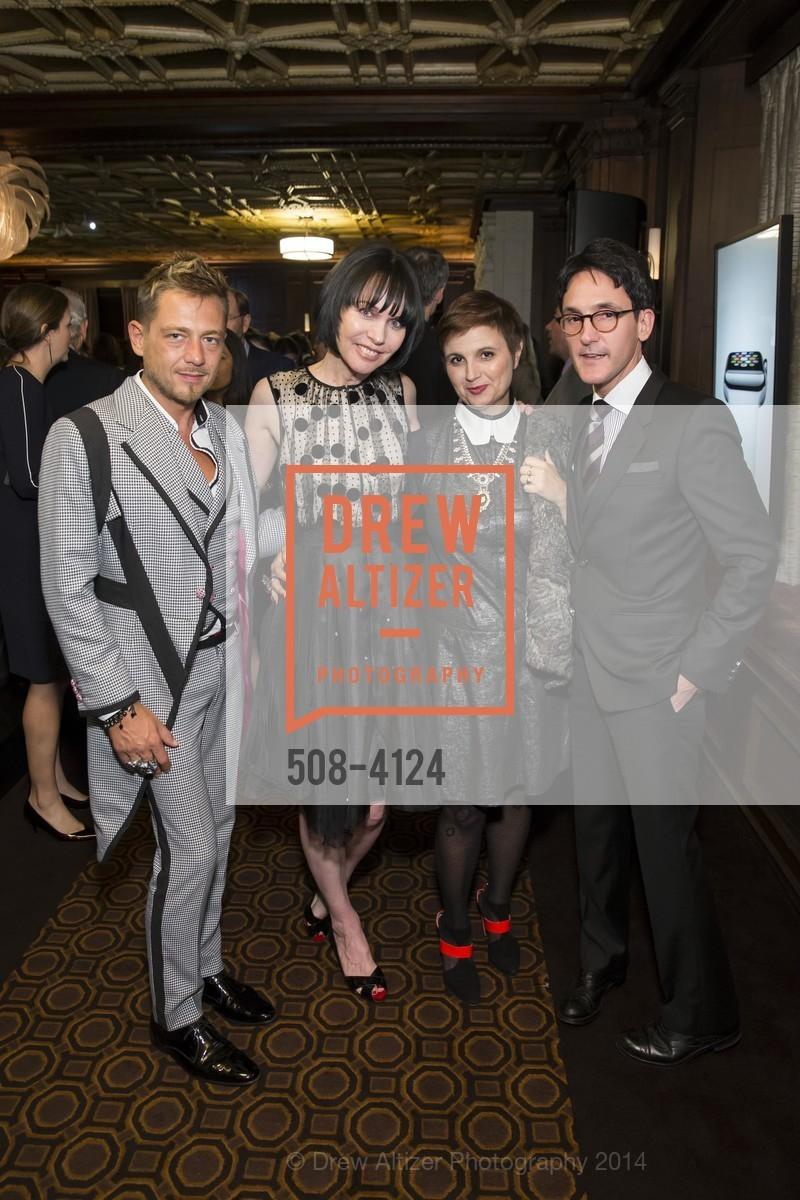 Yassen Samouilov, Christine Suppes, James Krohn, Livia Stoianova, Photo #508-4124