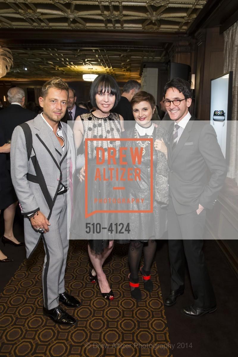 Yassen Samouilov, Christine Suppes, James Krohn, Livia Stoianova, Photo #510-4124