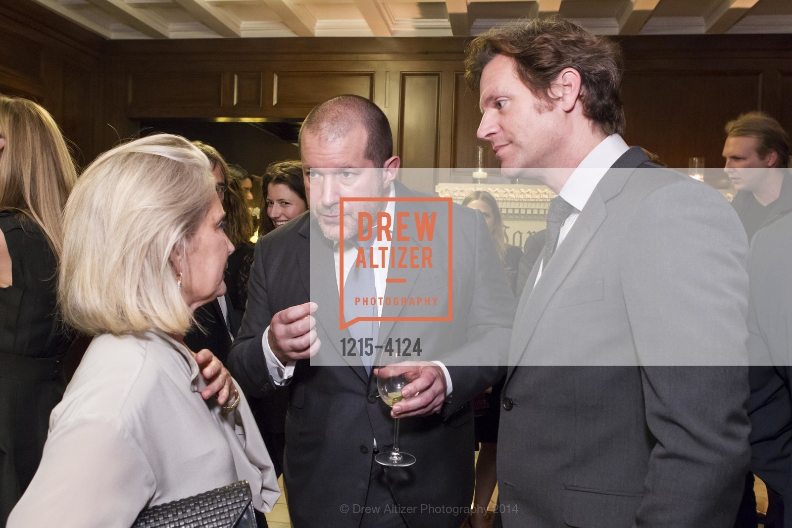 Mimi Haas, Jony Ive, Trevor Traina, Photo #1215-4124