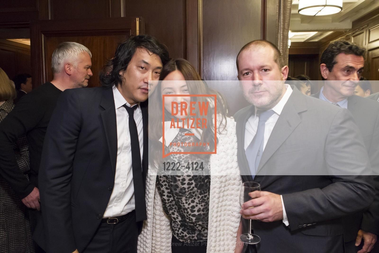 Eugene Hwang, Makiko Fujikawa, Jony Ive, Photo #1222-4124