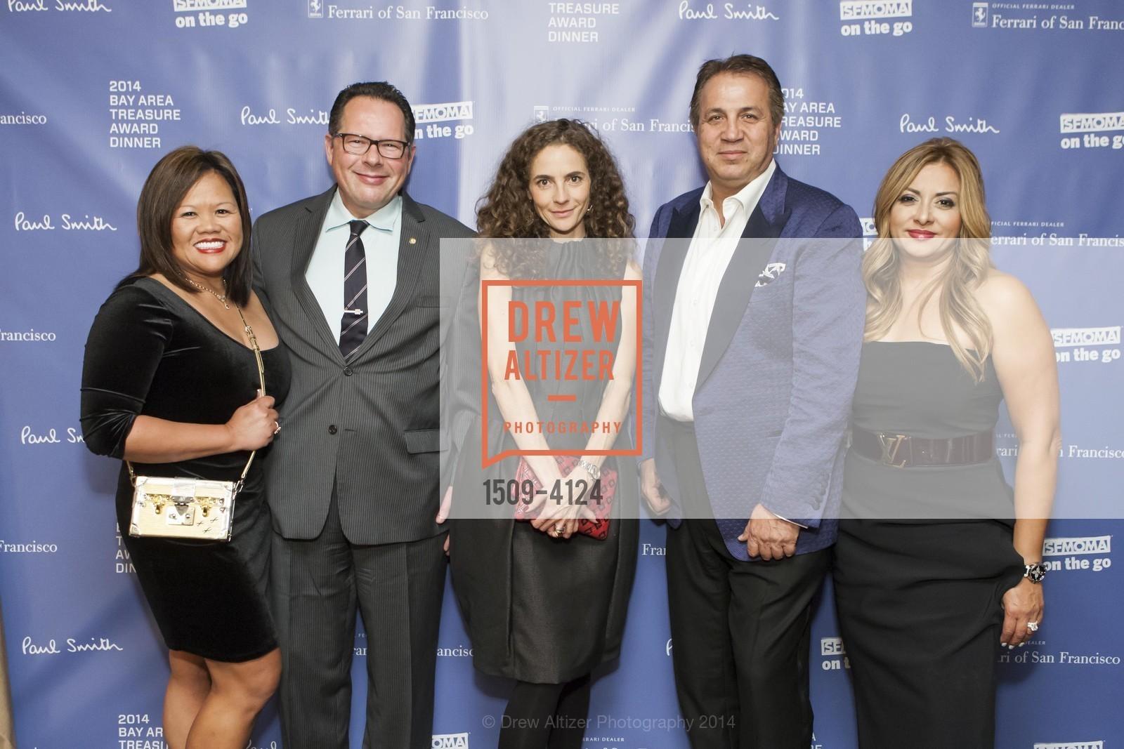 Camille Anderson, Scott Anderson, Monica Savini, Ed Baalbaki, Susan Dahi, Photo #1509-4124