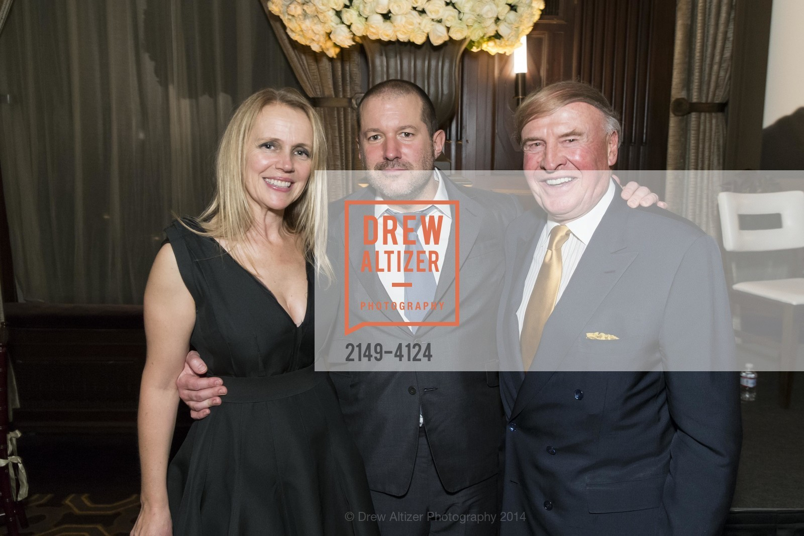 Heather Ive, Jony Ive, Dick Kramlich, Photo #2149-4124