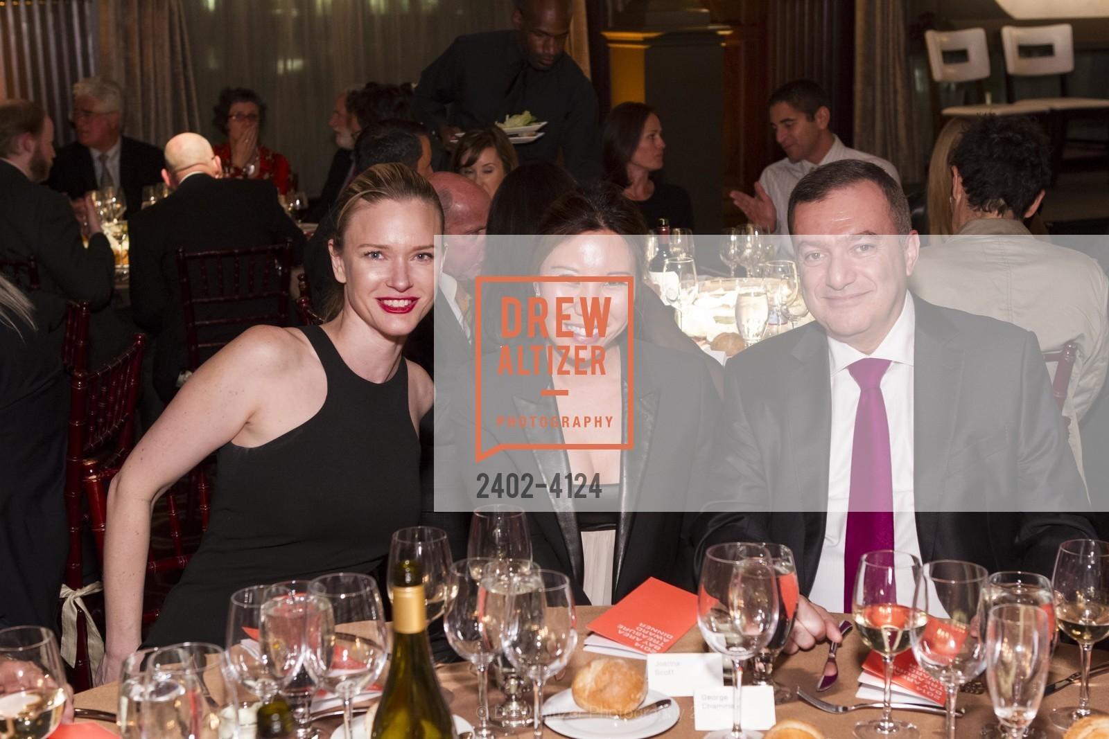 Justine Musk, Joanna Scott, George Chammas, Photo #2402-4124