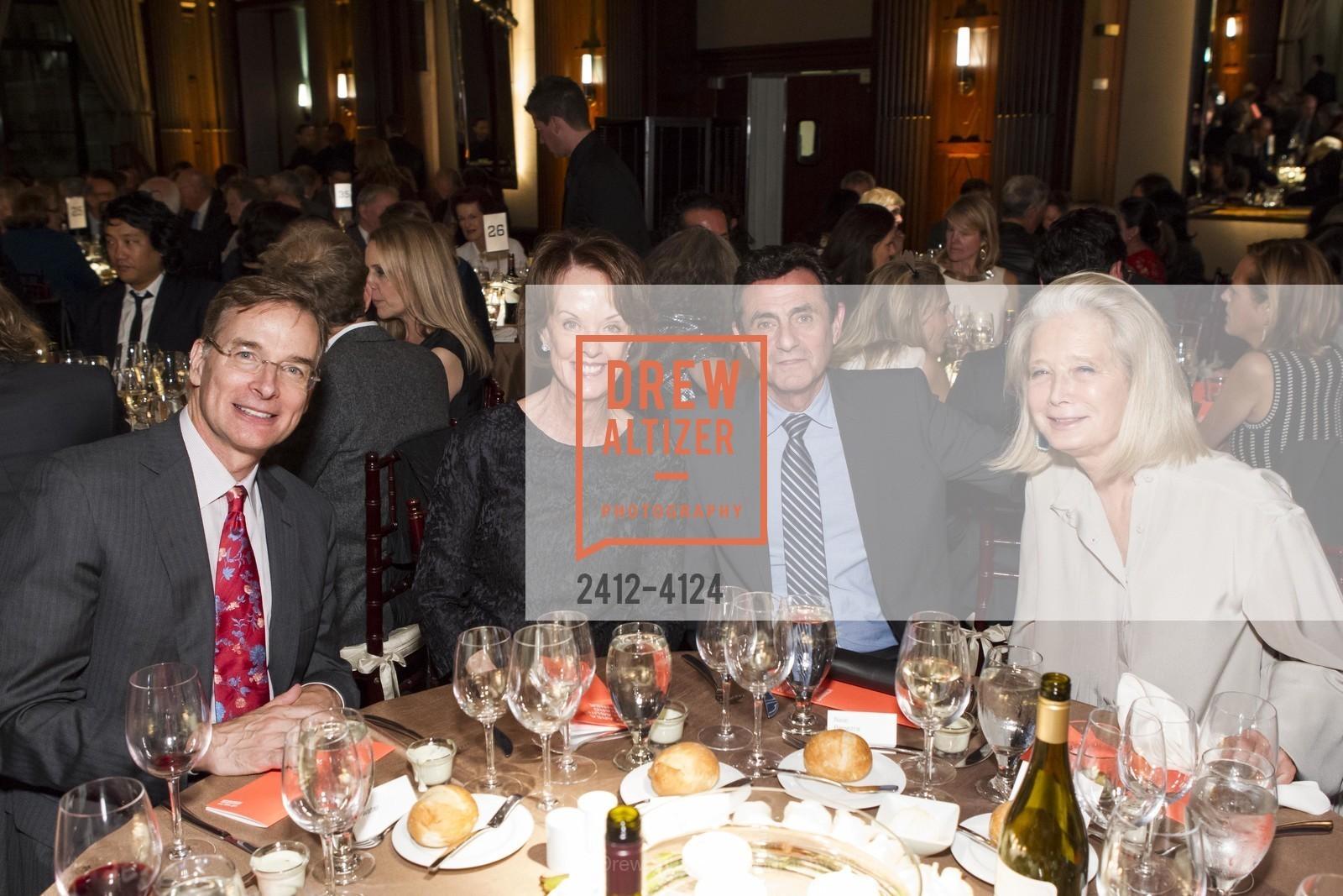 John Atwater, Helen Schwab, Neal Benezra, Mimi Haas, Photo #2412-4124