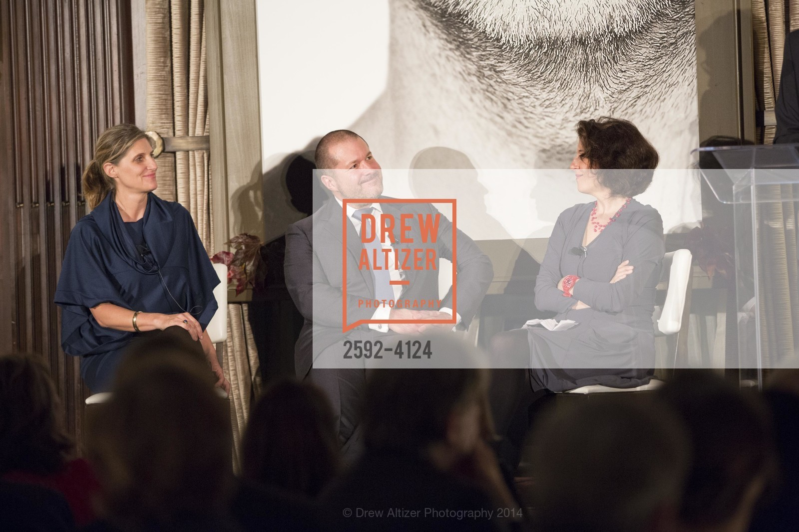 Jennifer Dunlop Fletcher, Jony Ive, Frances Anderton, Photo #2592-4124