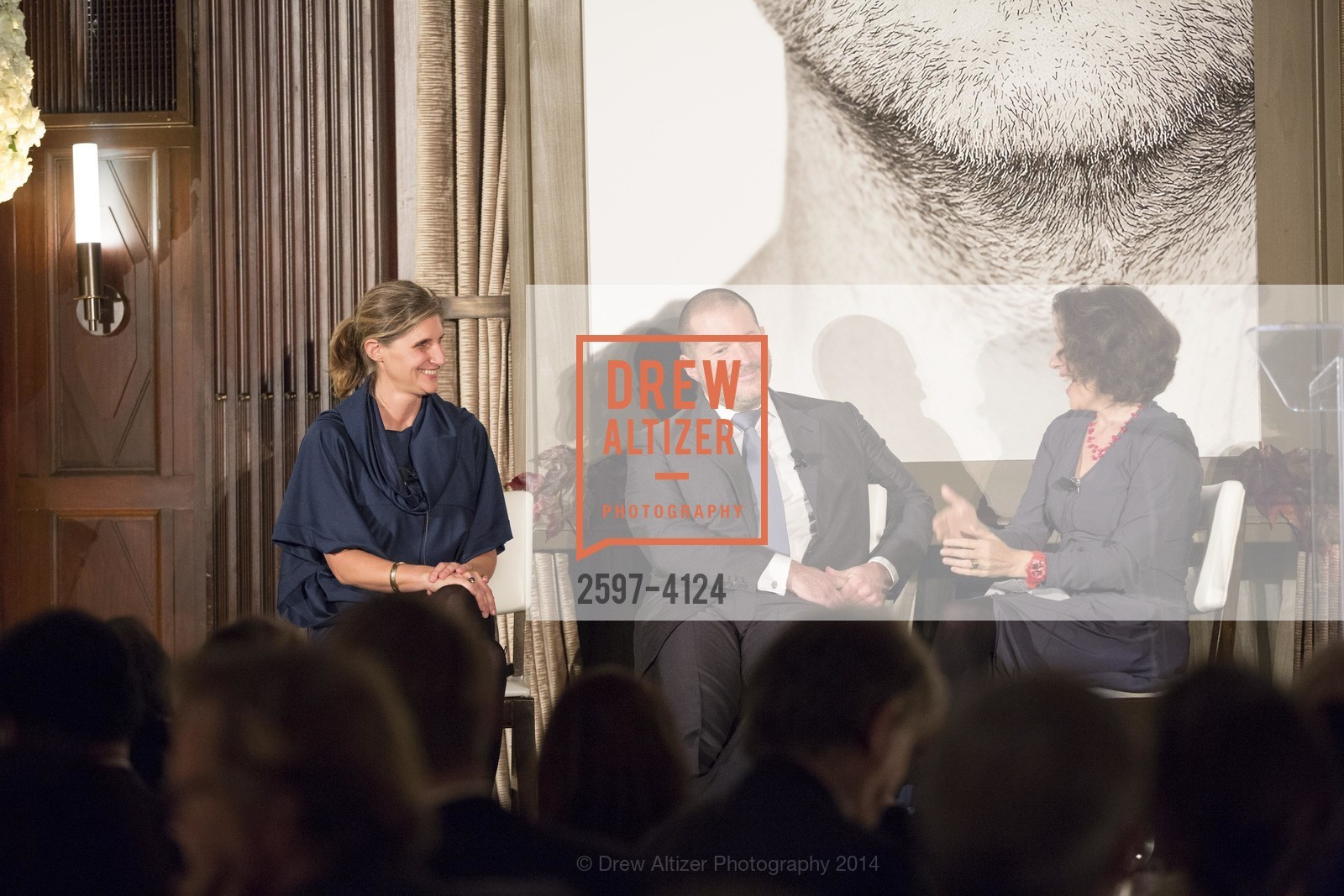 Jennifer Dunlop Fletcher, Jony Ive, Frances Anderton, Photo #2597-4124