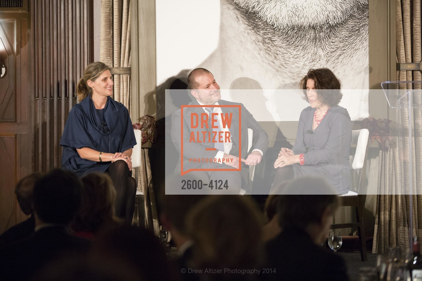 Jennifer Dunlop Fletcher, Jony Ive, Frances Anderton, Photo #2600-4124