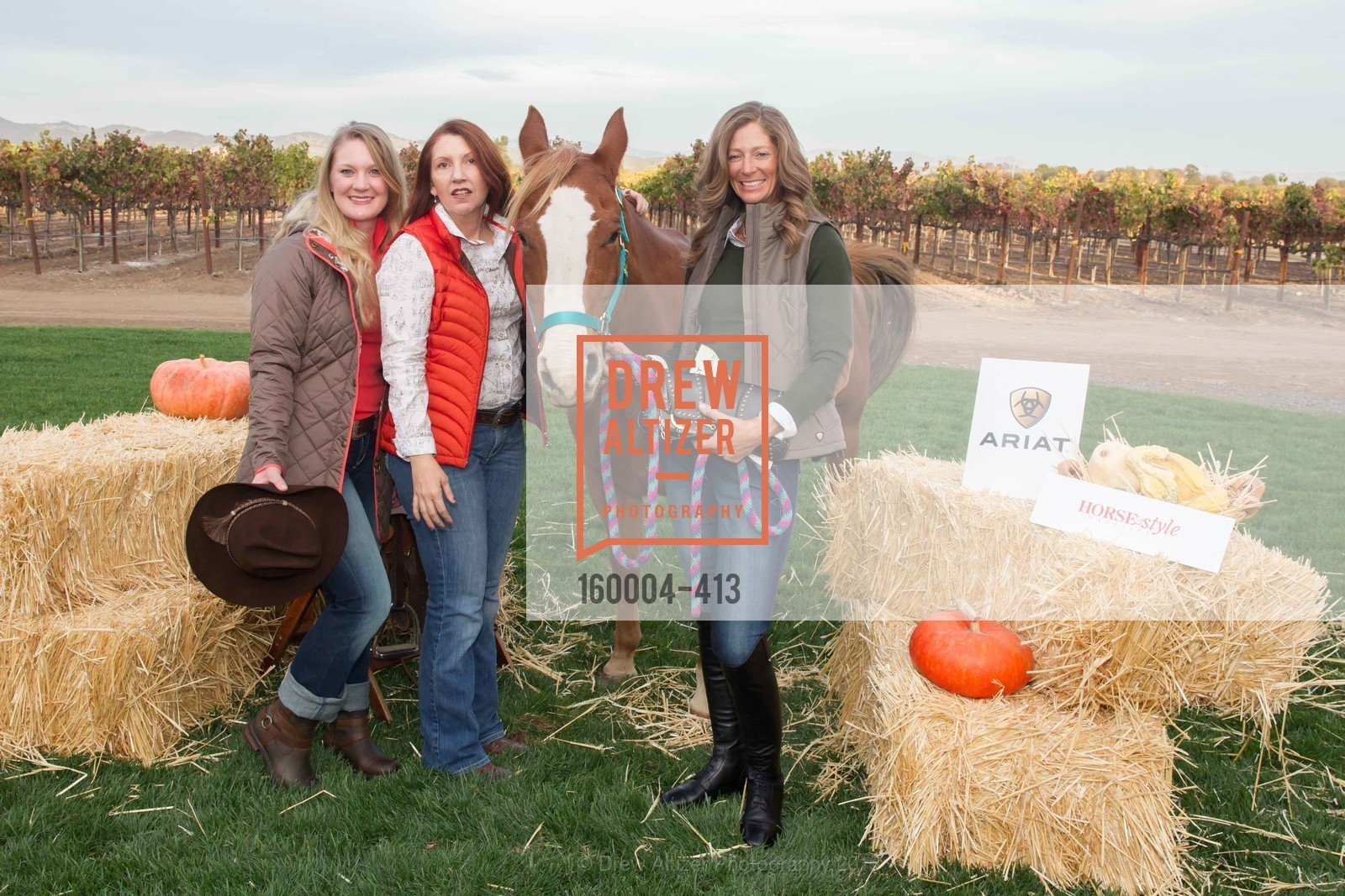 Jessica Golnick, Ashley Matchett Woods, Giana Roberge, A Harvest Barn Dance at Cornerstone Presented By Giant Steps Therapeutic Equestrian Center, Cornerstone Sonoma. 23570 Arnold Dr, October 24th, 2015,Drew Altizer, Drew Altizer Photography, full-service agency, private events, San Francisco photographer, photographer california