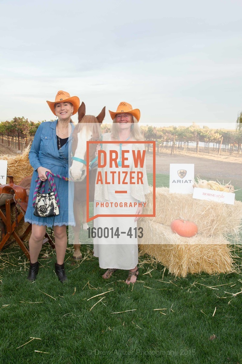 Terri Roberson, Sandra Sell-Lee, A Harvest Barn Dance at Cornerstone Presented By Giant Steps Therapeutic Equestrian Center, Cornerstone Sonoma. 23570 Arnold Dr, October 24th, 2015,Drew Altizer, Drew Altizer Photography, full-service agency, private events, San Francisco photographer, photographer california