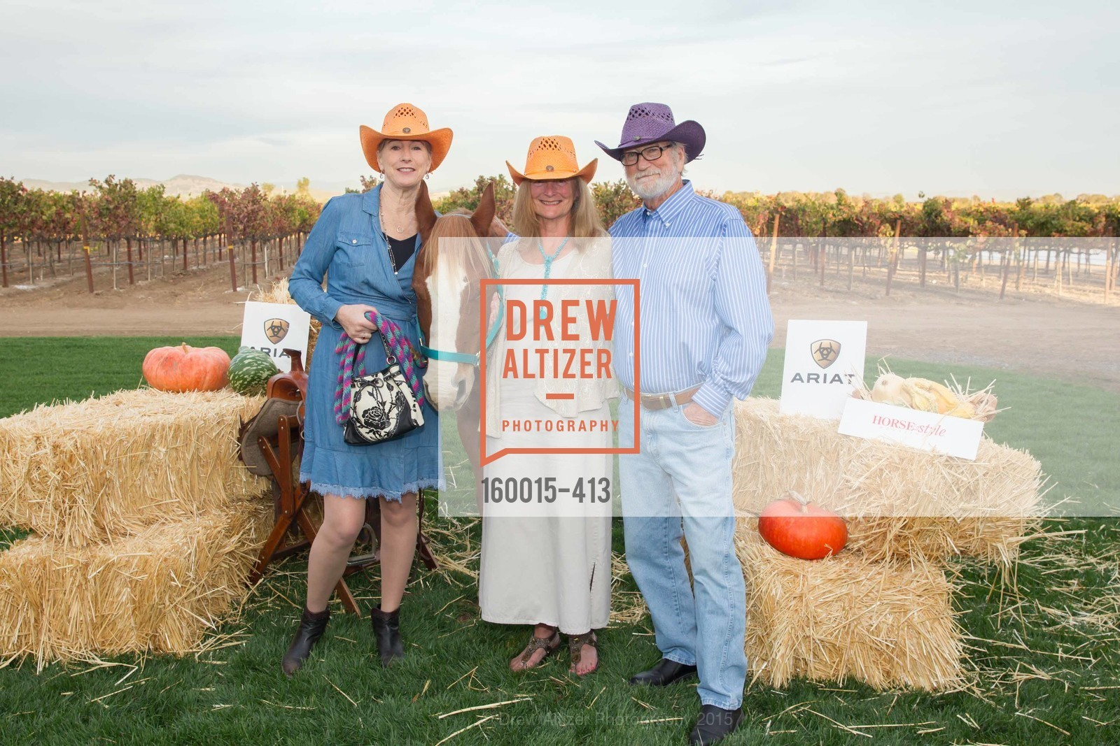 Terri Roberson, Sandra Sell-Lee, Bill Sell-Lee, A Harvest Barn Dance at Cornerstone Presented By Giant Steps Therapeutic Equestrian Center, Cornerstone Sonoma. 23570 Arnold Dr, October 24th, 2015,Drew Altizer, Drew Altizer Photography, full-service agency, private events, San Francisco photographer, photographer california