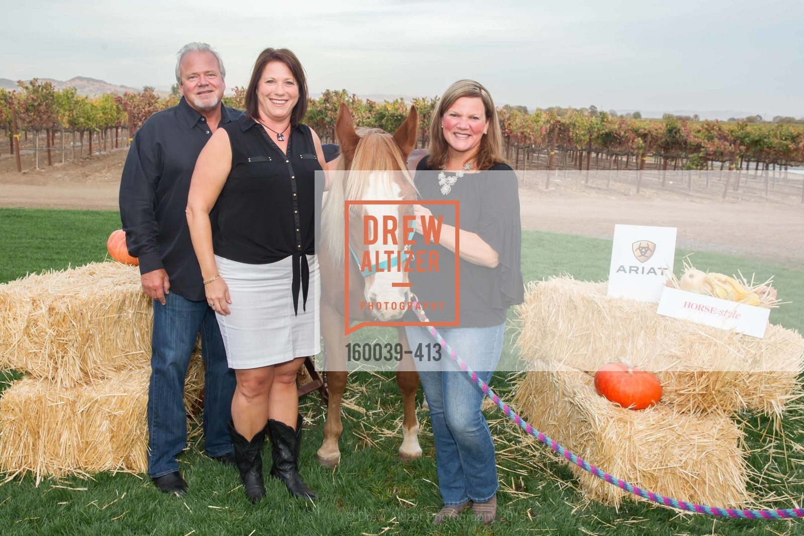 Wayne Olson, Karen Olson, Jenny Lewis, A Harvest Barn Dance at Cornerstone Presented By Giant Steps Therapeutic Equestrian Center, Cornerstone Sonoma. 23570 Arnold Dr, October 24th, 2015,Drew Altizer, Drew Altizer Photography, full-service agency, private events, San Francisco photographer, photographer california