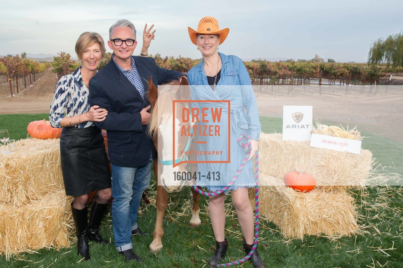 Charlotte Hart, Keith Herbert, Terri Roberson, A Harvest Barn Dance at Cornerstone Presented By Giant Steps Therapeutic Equestrian Center, Cornerstone Sonoma. 23570 Arnold Dr, October 24th, 2015,Drew Altizer, Drew Altizer Photography, full-service agency, private events, San Francisco photographer, photographer california