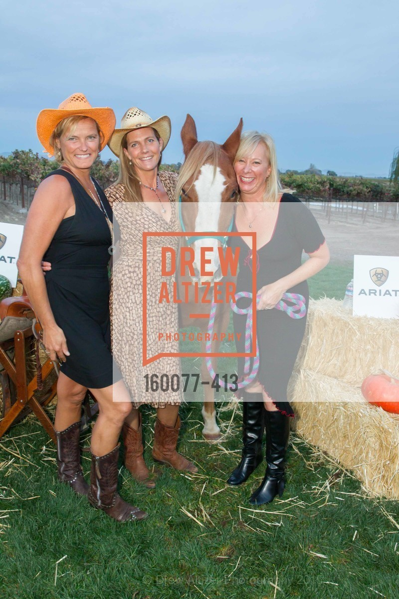 Karen McFarland, Michelle Rogers, Teri Marshall, A Harvest Barn Dance at Cornerstone Presented By Giant Steps Therapeutic Equestrian Center, Cornerstone Sonoma. 23570 Arnold Dr, October 24th, 2015,Drew Altizer, Drew Altizer Photography, full-service agency, private events, San Francisco photographer, photographer california