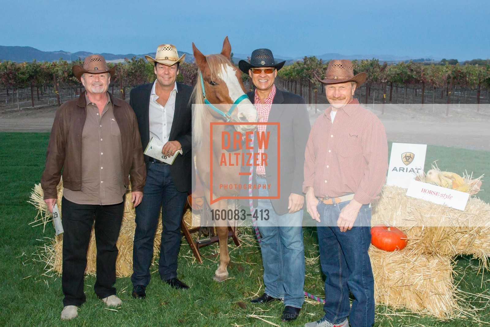 Bob Farrell, Dave Whiteside, Miguel Delgado, Paul Decker, A Harvest Barn Dance at Cornerstone Presented By Giant Steps Therapeutic Equestrian Center, Cornerstone Sonoma. 23570 Arnold Dr, October 24th, 2015,Drew Altizer, Drew Altizer Photography, full-service agency, private events, San Francisco photographer, photographer california
