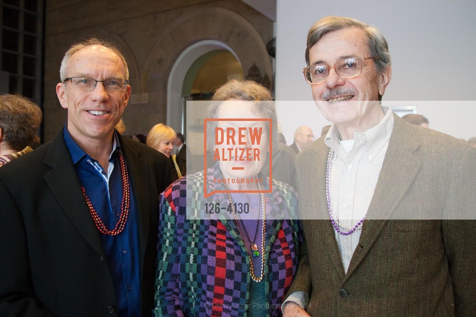 Rick Neely, Doris Burgess, Alan Burgess, Photo #126-4130