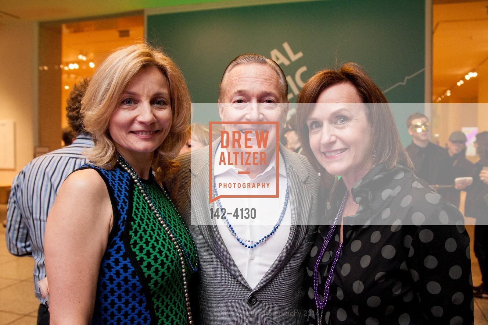 Elena Lebedeva, J. Michael Bewley, Eileen Silver, Photo #142-4130