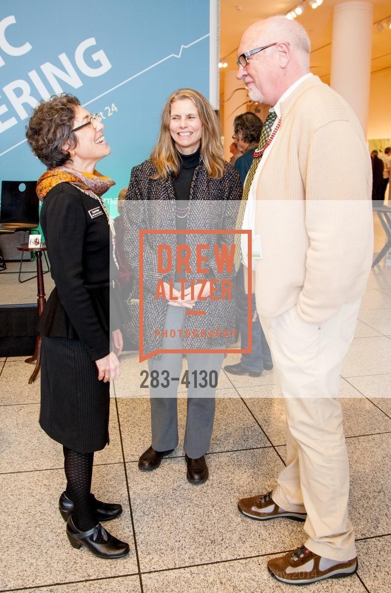 Susan Krane, Lisa Adams, Clyde Deswick, Photo #283-4130