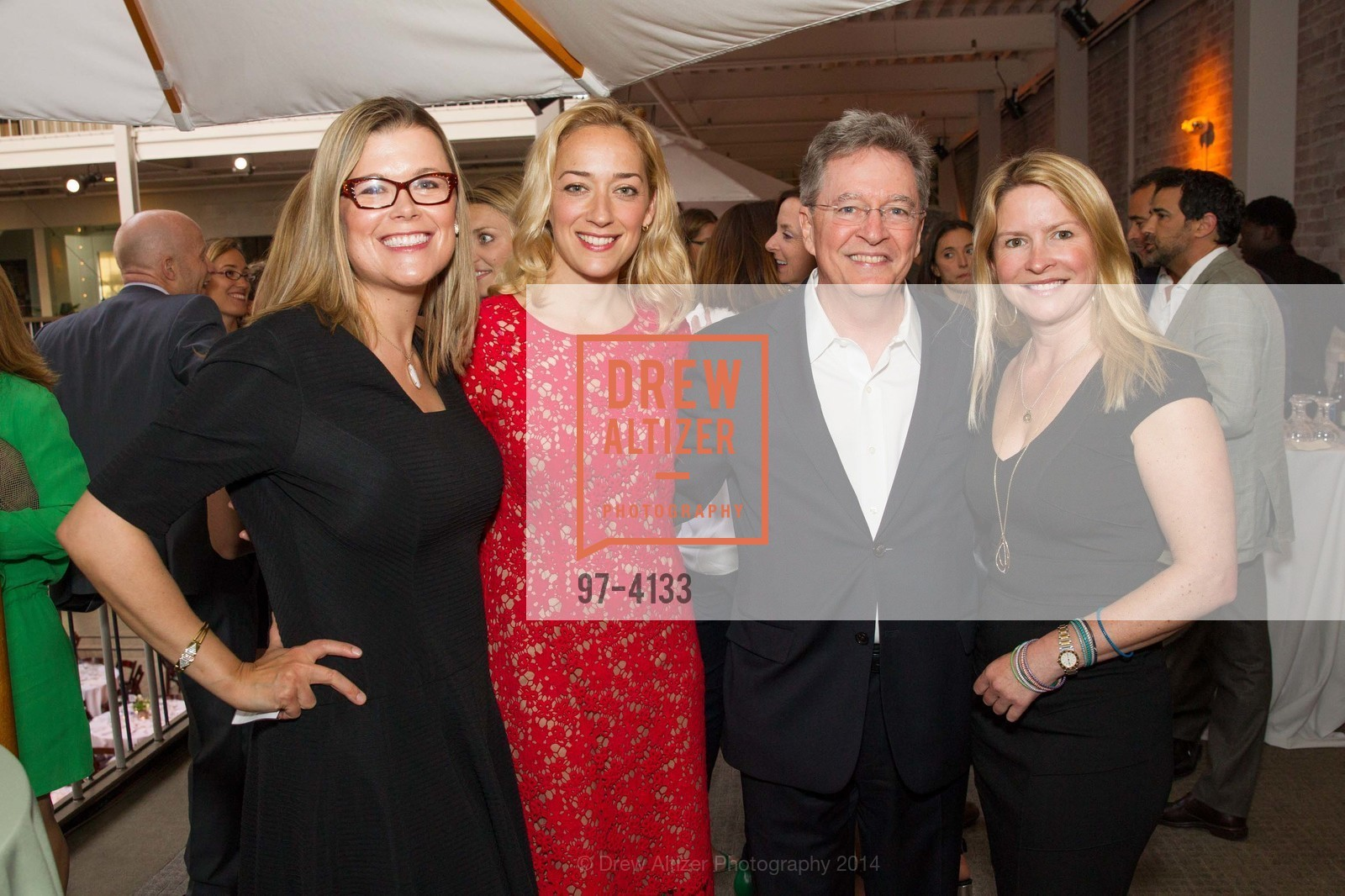 Heather White, Chris Connor, Ken Cook, Gabrielle Hull, Photo #97-4133
